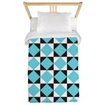 Geometric Checkerboard Twin Duvet