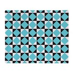 Geometric Checkerboard Throw Blanket