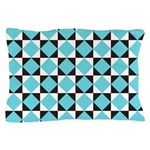 Geometric Checkerboard Pillow Case