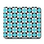 Geometric Checkerboard Mousepad