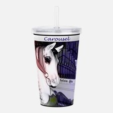 Carousel Acrylic Double-wall Tumbler