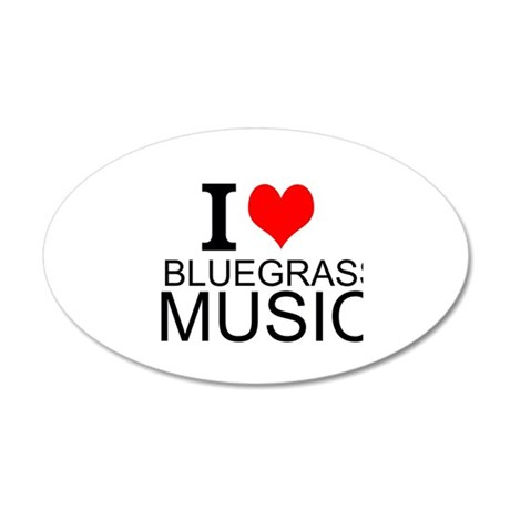 i love bluegrass music wall decal 1337473724 on special housewarming gifts