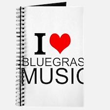 I Love Bluegrass Music Journal