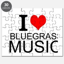 I Love Bluegrass Music Puzzle