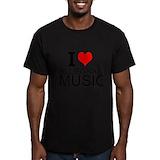 Bluegrass festival Fitted T-shirts (Dark)