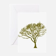 Green Tree Greeting Cards