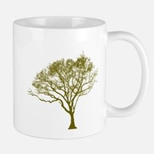 Green Tree Mugs