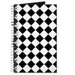 Diamond Black White Journal
