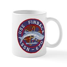 USS FINBACK Mug