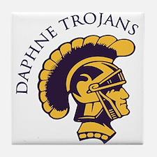 Daphne Trojans Tile Coaster