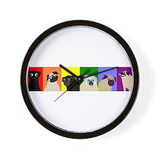 PugPride Wall Clock