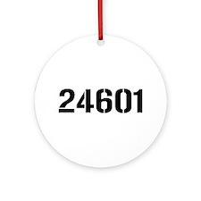 24601 Ornament (Round)