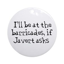 javert Ornament (Round)