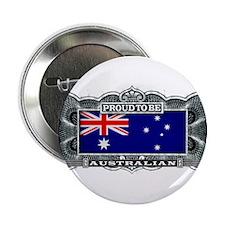 "Proud To Be Australian 2.25"" Button"