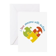 Someone With Autism Greeting Cards