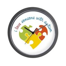 Someone With Autism Wall Clock