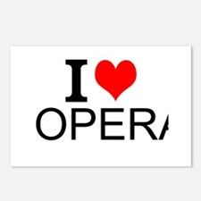 I Love Opera Postcards (Package of 8)