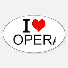 I Love Opera Stickers
