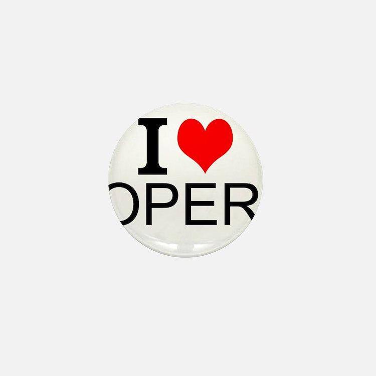 I Love Opera Mini Button