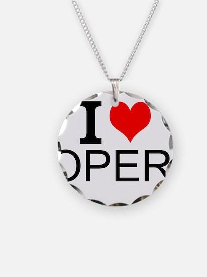 I Love Opera Necklace