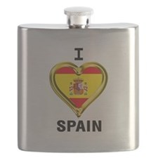 Cute Spanish flag Flask