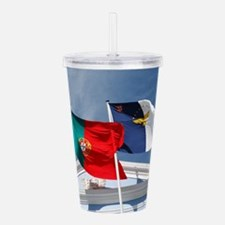 Portugal and Azores Acrylic Double-wall Tumbler
