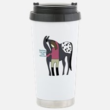 I Need Horse Time - appaloosa Travel Mug