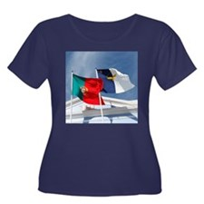 Portugal and Azores Plus Size T-Shirt