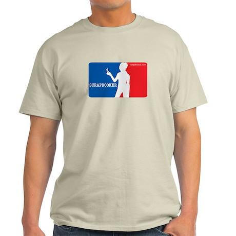 Major League Scrapbooker Light T-Shirt