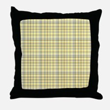 Cute Yellow gray Throw Pillow
