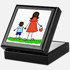 Mother and Son Keepsake Box