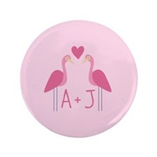 "Personalized Love 3.5"" Button (100 pack)"