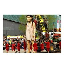 Little Girl Giant Postcards (Package of 8)