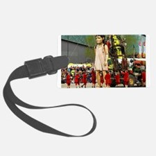 Little Girl Giant Luggage Tag