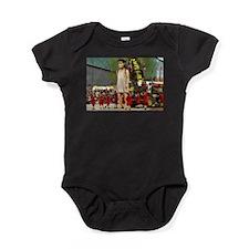 Little Girl Giant Baby Bodysuit