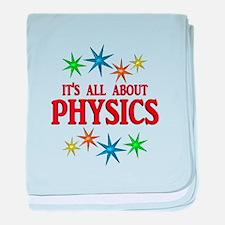 Physics Stars baby blanket