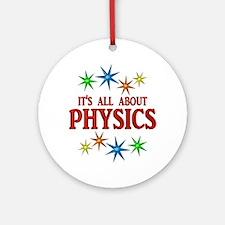 Physics Stars Ornament (Round)
