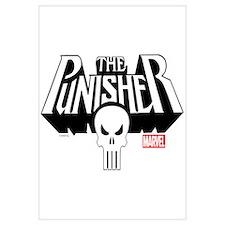 Punisher Logo Wall Art