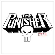 Punisher Logo Wall Art Poster
