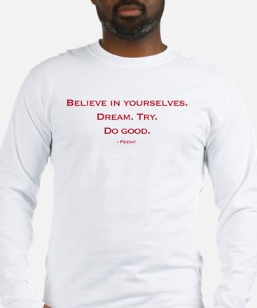 Mr. Feeny Quote Long Sleeve T-Shirt