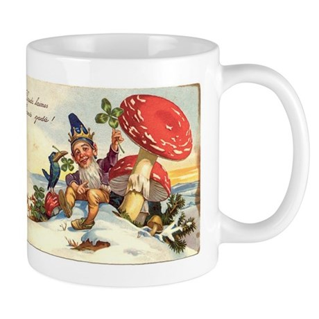 gnome-new-years-card Mugs