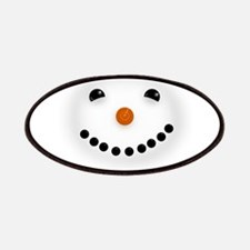 Snowman Face DARKS Patches