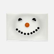 Snowman Face DARKS Magnets