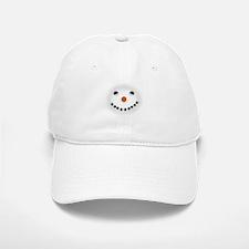 Snowman Face DARKS Baseball Baseball Baseball Cap
