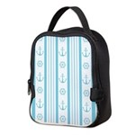 Anchor Nautical Turquoise Neoprene Lunch Bag