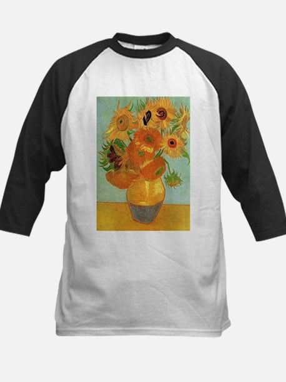 Vase with Twelve Sunflowers, Van Gogh Baseball Jer