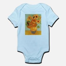 Vase with Twelve Sunflowers, Van Gogh Body Suit