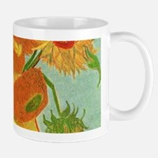 Vase with Twelve Sunflowers, Van Gogh Mugs