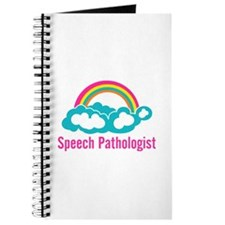 Cloud Rainbow Speech Pathologist Journal
