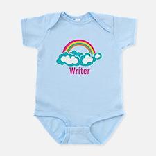 Rainbow Cloud Writer Infant Bodysuit